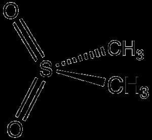 Methylsulfonylmethan (MSM) als Molekül